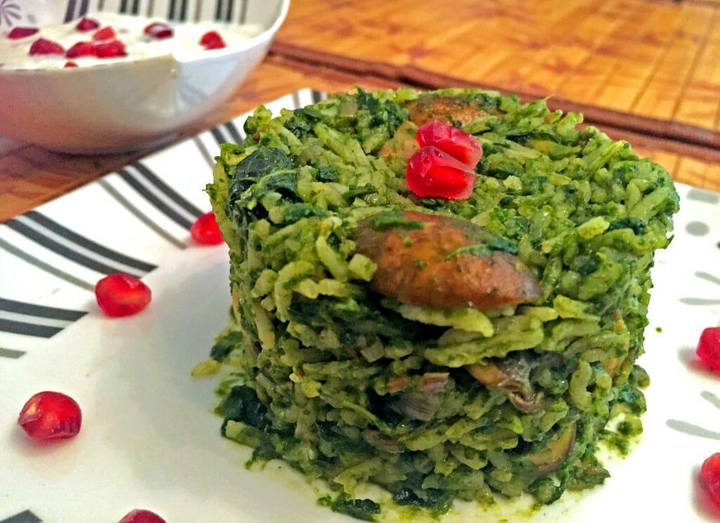 Spinach Rice Recipe