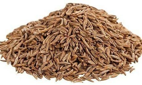 Cumin seeds texture and taste