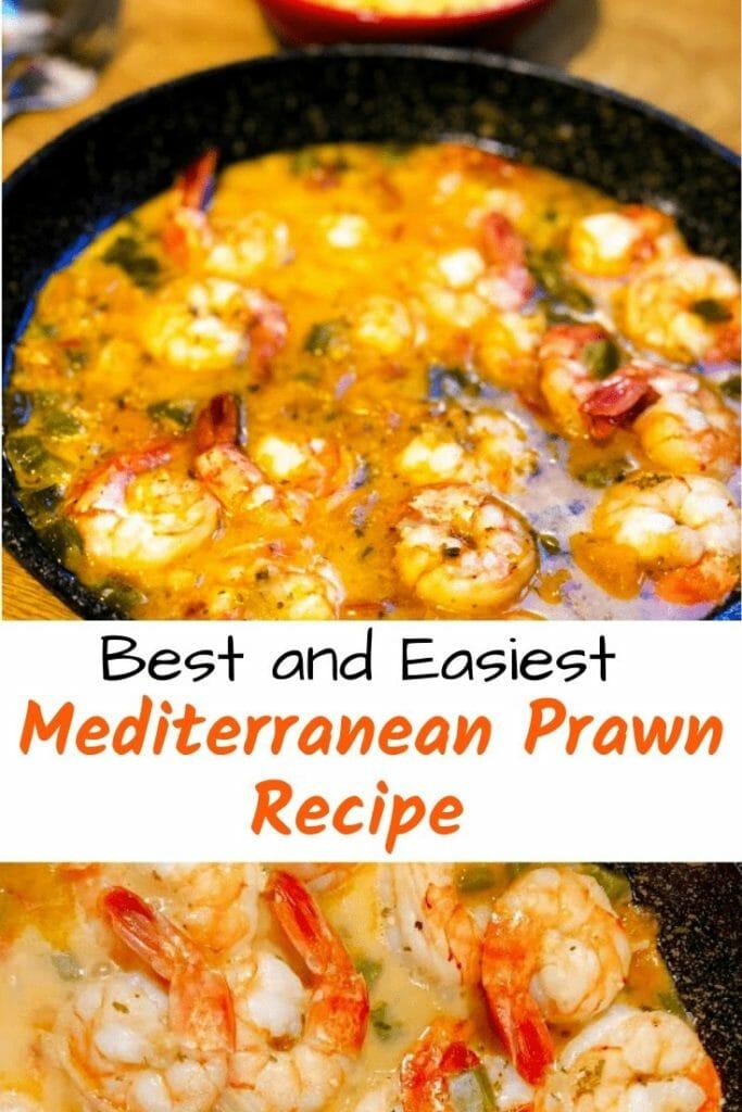 Best prawn recipe Pinterest image