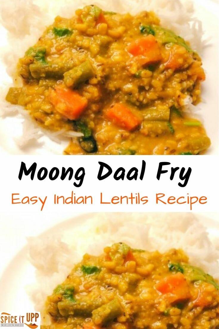 Moong daal fry recipe - Indian Lentils recipe