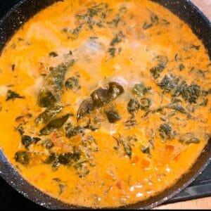 Easy Salmon curry recipe